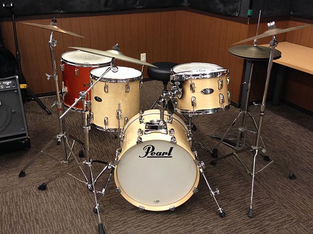 新御徒町スタジオドラムセット一部交換しました